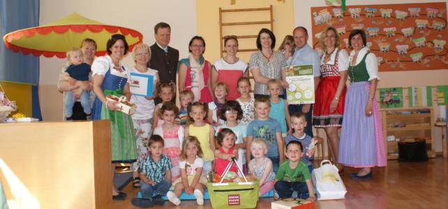 Regionaler Ideenwettbewerb – Siegerfoto Kindergarten
